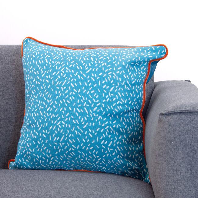 Neon Cushion 45x45cm - Teal