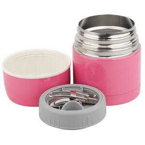 Stainless Steel Soup Flask with Spoon
