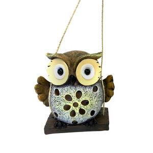 Solar Owl on Swing