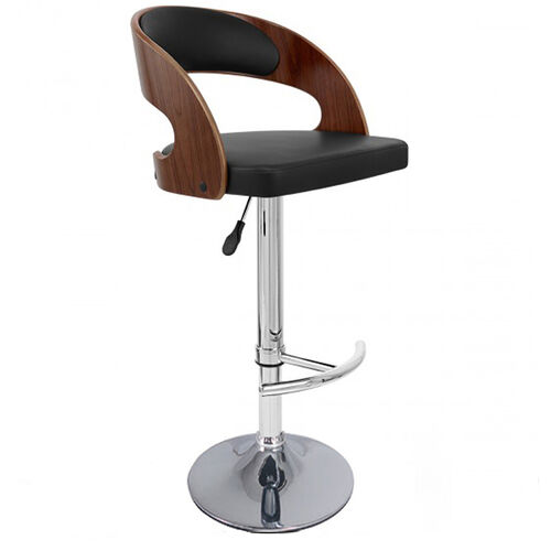 Veneto Bar Stool Black