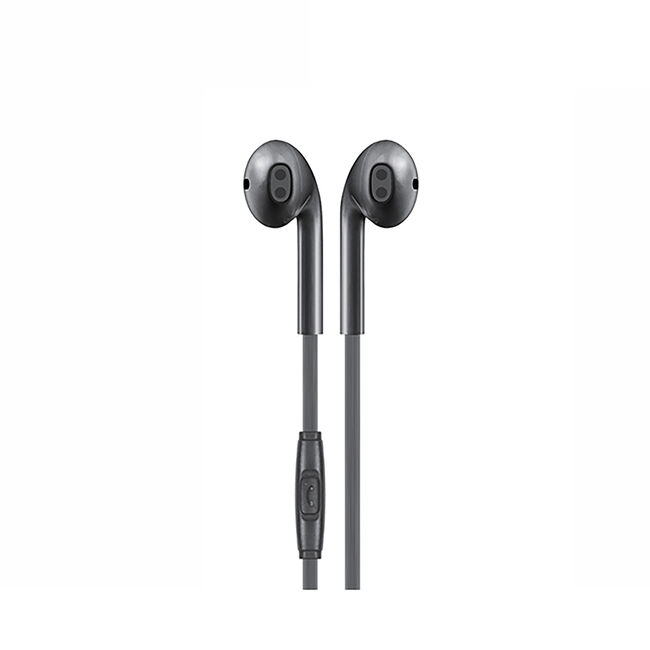 Budi Black Earphones With Microphone
