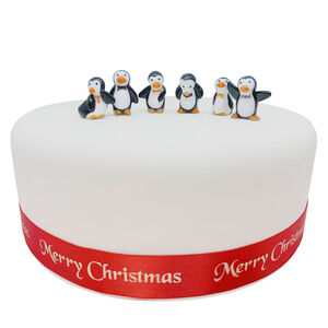Bow Tie Penguin Cake Picks