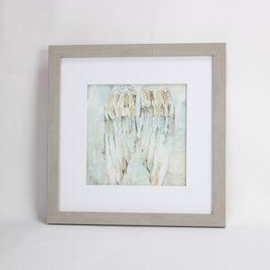 Resting Angel Framed Print 55x55cm