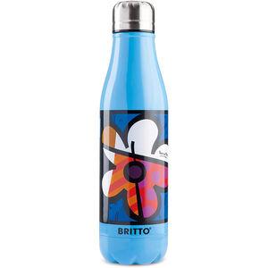 Britto Flower & Blue 500ml Vacuum Bottle