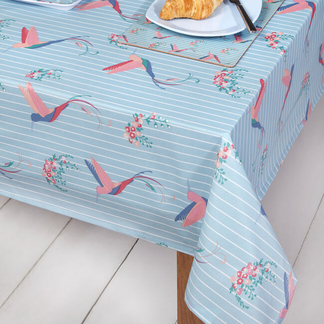 Hummingbird PVC Table Cloth 106x230cm