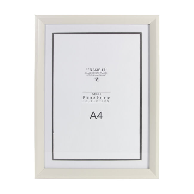 "Cream Photo Frame 8x12"" (A4)"