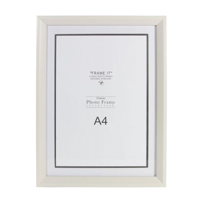 Cream Photo Frame A4