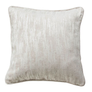 Davy Chenille Natural Cushion 45cm x 45cm