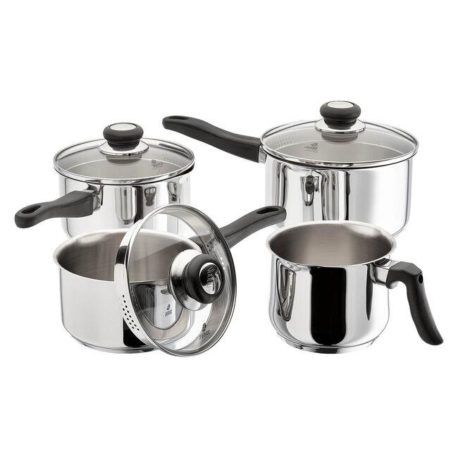 Judge Vista Draining Cookware Set 4 Piece