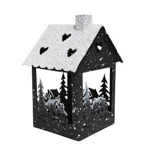 Christmas House T-Light Holder