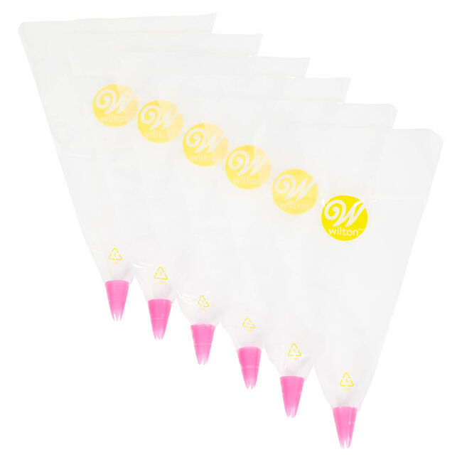 Wilton Disposable Tip and Bag - Set of Six