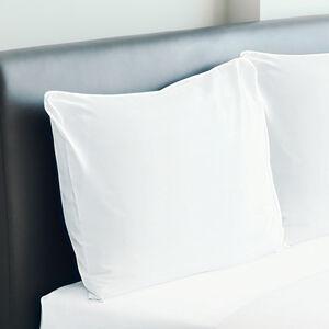 300TC Cotton Housewife Pillowcase Pair - White