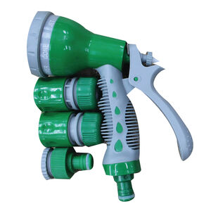 Garden Hose Spray Gun With Fittings