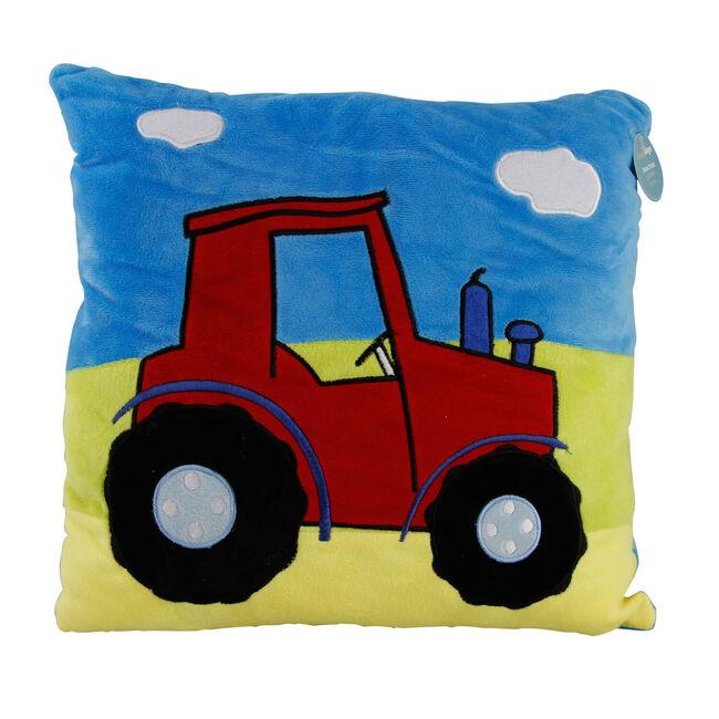 Tractor Square Cushion 35cm x 35cm