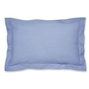 Luxury Percale Cornflower Oxford Pillowcase Pair