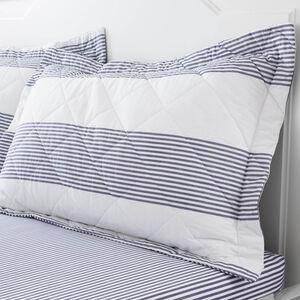 Smyth Blue Pillowshams 50cm x 75cm