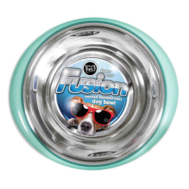 Fusion Stainless Steel Dog Bowl 21cm