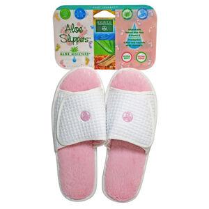 Aloe Slippers Pink L/XL