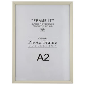 A2 Slim Cream Photo Frame