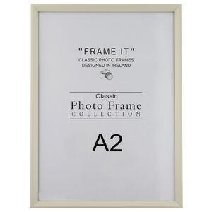 Slim Cream Photo Frame