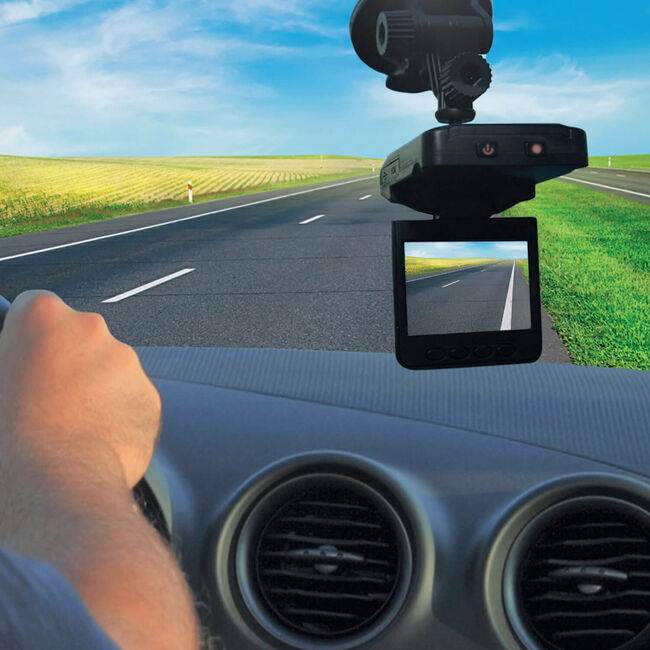 HD Dashcam with 16GB SD Card