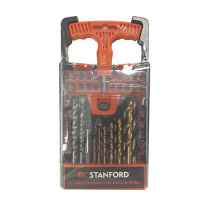 50 Piece Combination Drill Bit Set
