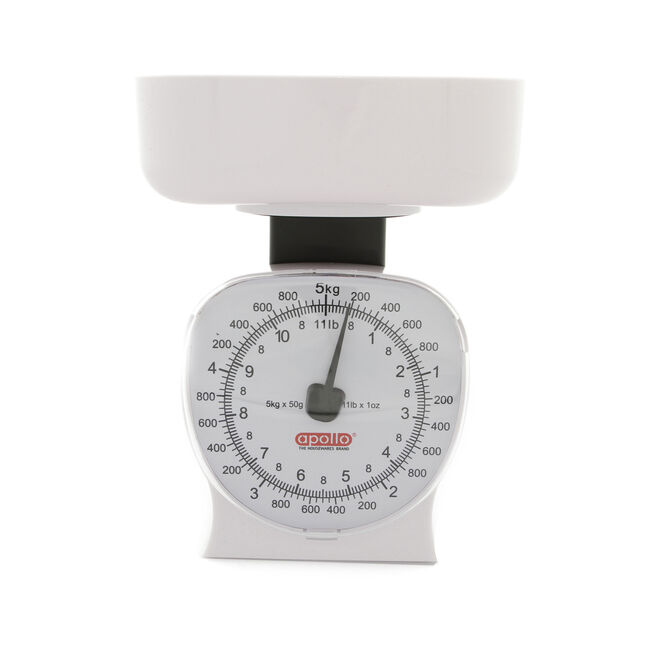 Large Kitchen Scales - White