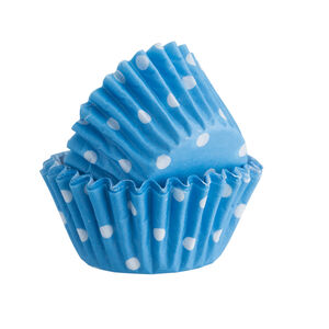 75 Polka Dot Mini Cupcake Cases