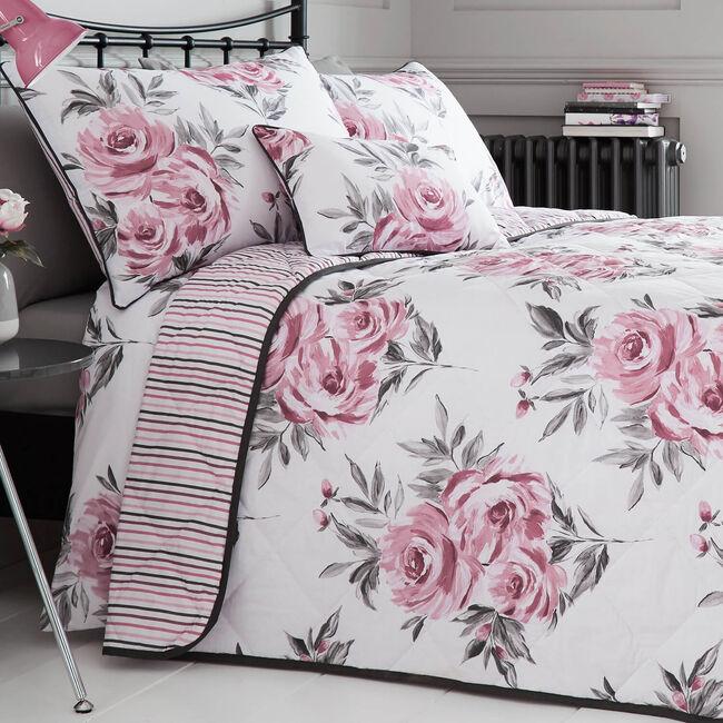 Betty Pink Bedspread 200cm x 220cm