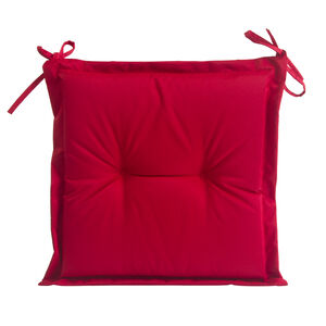 Seat Pad Red 40cm x 40cm x 3cm