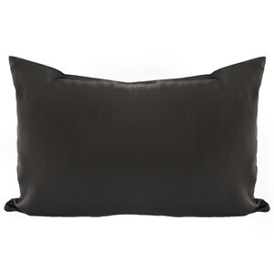 Silk Charcoal Pillowcase
