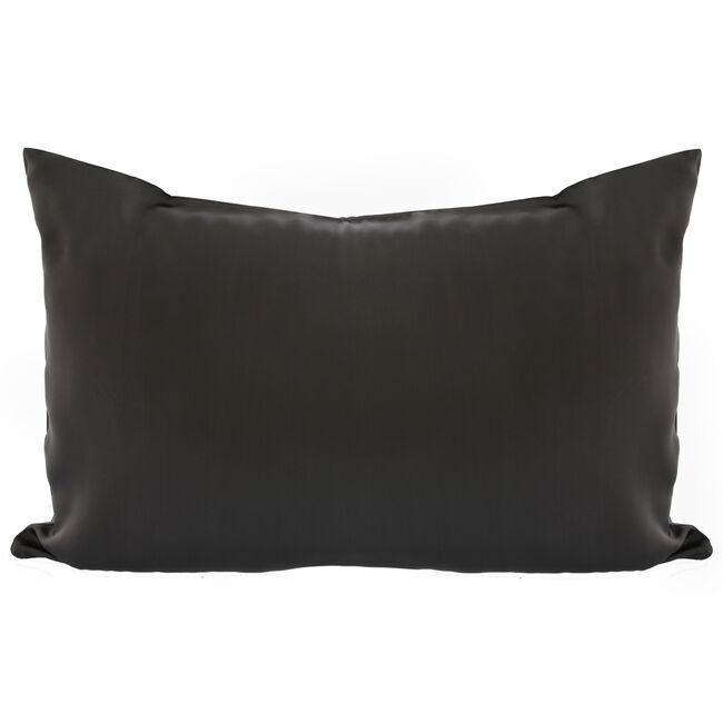 Silk Charcoal Pillowcase
