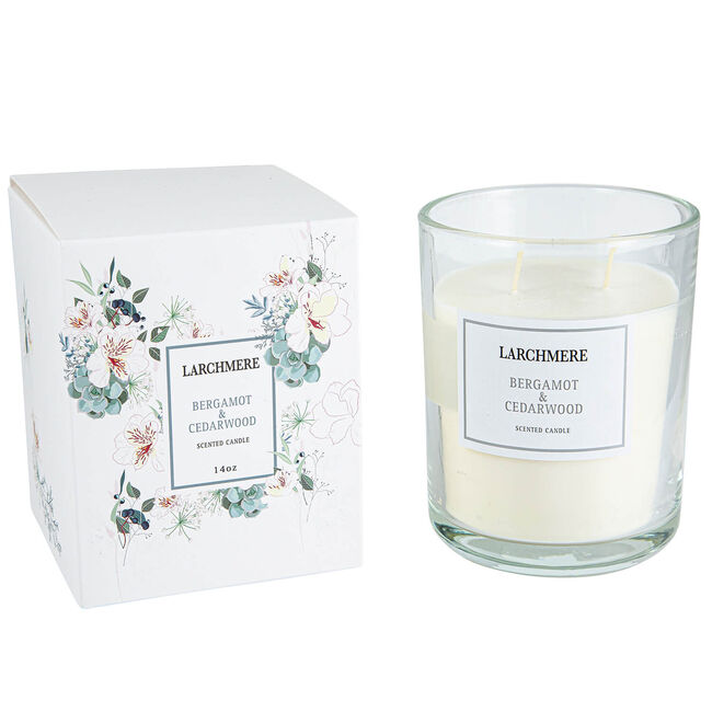 Larchmere Bergamot & Cedarwood Scented Candle