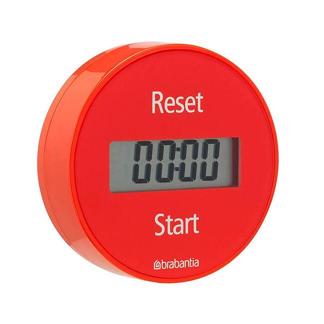 Brabantia Magnetic Timer Red