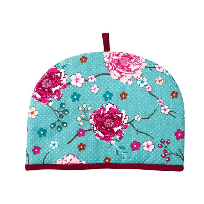 Floral Admiration Tea Cosy - Teal