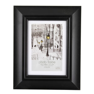Simply Black Photo Frame 4x6""