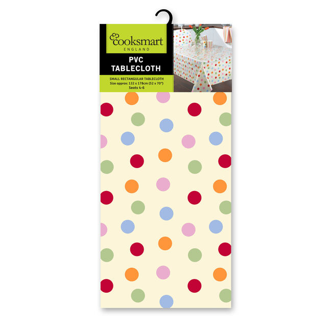 Spots Small Tablecloth 132cm x 178cm