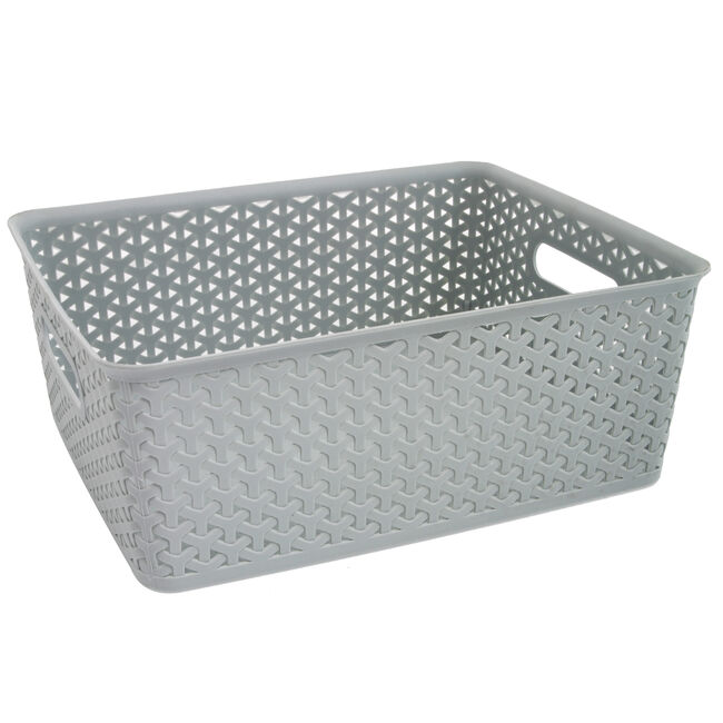 Geometric Basket 14.5L - Mint