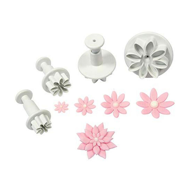 Mason Cash 4Pc Daisy Plunger Cutters
