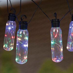 50 LED Bottle Solar String Lights