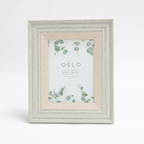 6x8 OSLO SOFT GREY Frame