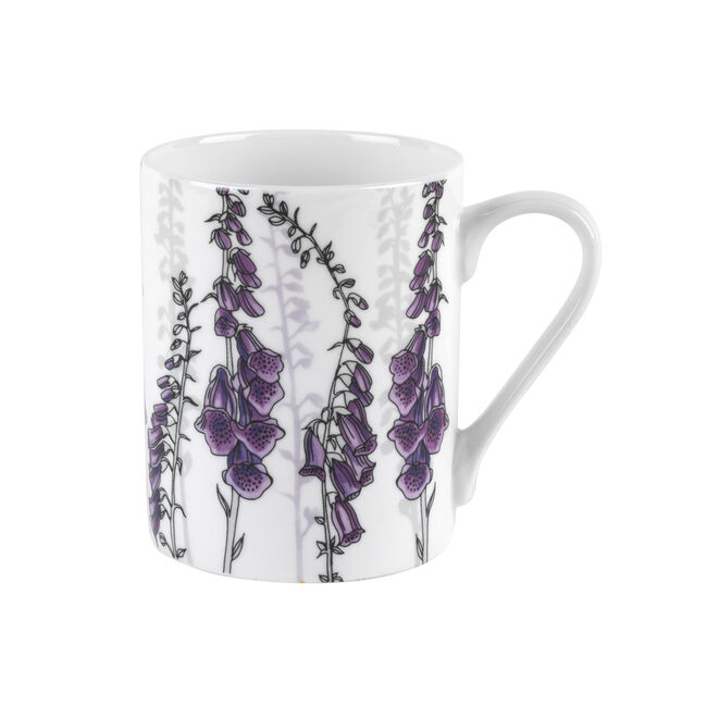 Dorset Foxglove Bone China Mug