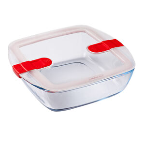 Cook and Heat Square Dish with Lid