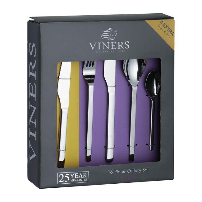 Viners Sonata Cutlery Set 16 Piece +4 Steak Knives