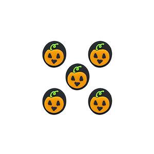 Halloween Pumpkin Icing Topper
