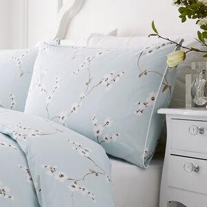 Blossom Duck Egg Pillowshams 50cm x 75cm