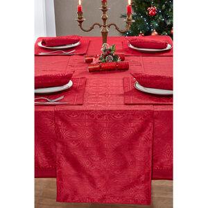 Gatsby Damask Red Table Runner 229 x 40cm