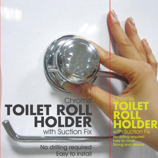 Chrome Toilet Roll Holder
