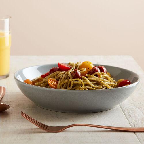Denby Intro 4 Piece Pasta Bowl Set - Soft Grey