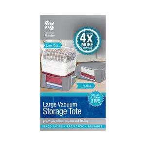 Large Vacuum Storage Tote